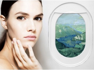 Обезвоживание кожи в полёте