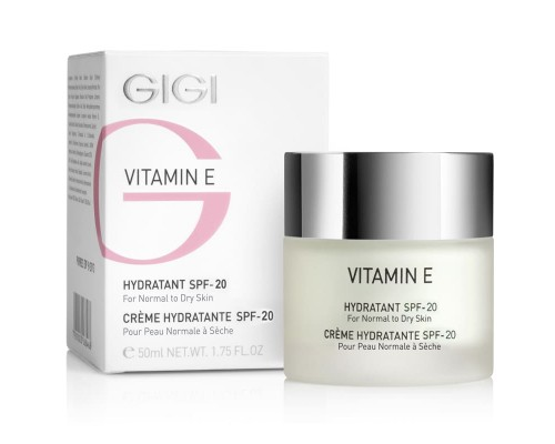 Vitamin E Hydratant SPF 17 For Normal To Dry Skin